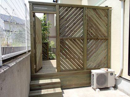 ウッド門扉