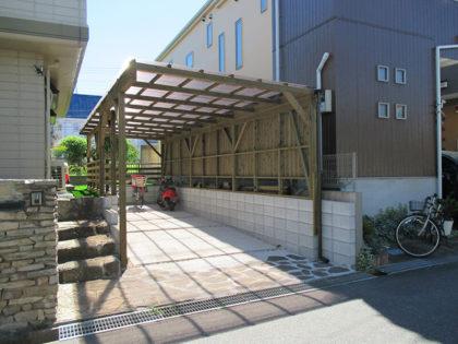千葉県八千代市 カーポート