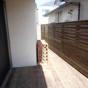 横浜市神奈川区 ウッドフェンス