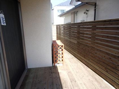 神奈川県 横浜市 神奈川区 ウッドフェンス