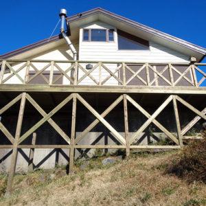 静岡県三島市 傾斜地ウッドデッキ施工